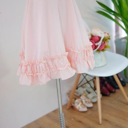 HANDMADE dress Marry Sundress pink ..